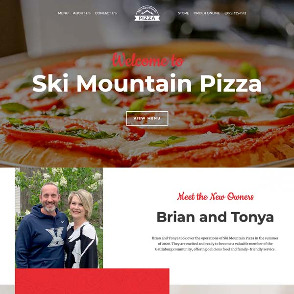Ski Mountain Pizza